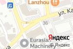 Схема проезда до компании Банк Хоум Кредит, ДБ АО в Алматы