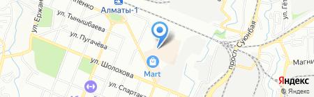 L.K.W. на карте Алматы