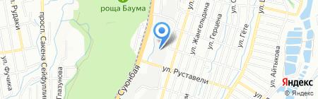 Tuba Industrial на карте Алматы
