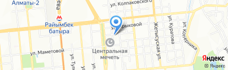 Школа таможенного брокера на карте Алматы