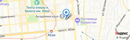 Платежный терминал Народный Банк Казахстана на карте Алматы