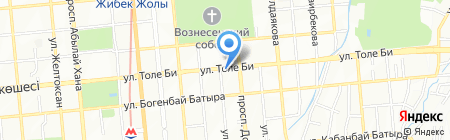KOKON restobar на карте Алматы