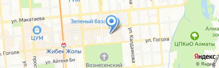 АлЭС АО на карте Алматы