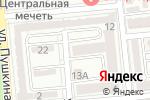 Схема проезда до компании АЯЖАН в Алматы