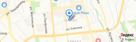 AKoichumanova & Partners на карте Алматы