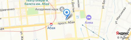 Сырым на карте Алматы