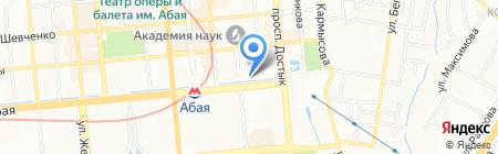 Angry Fish на карте Алматы