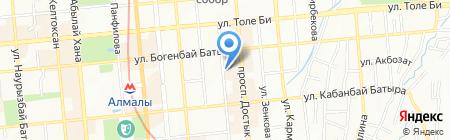 Lime на карте Алматы