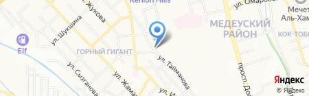 GOLF.KZ на карте Алматы