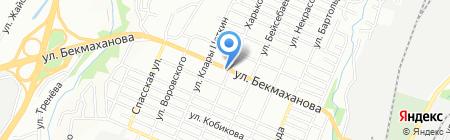 Светлана на карте Алматы