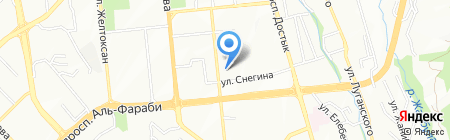 Boulevard на карте Алматы