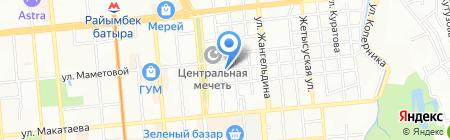 MASSAGET KZ на карте Алматы