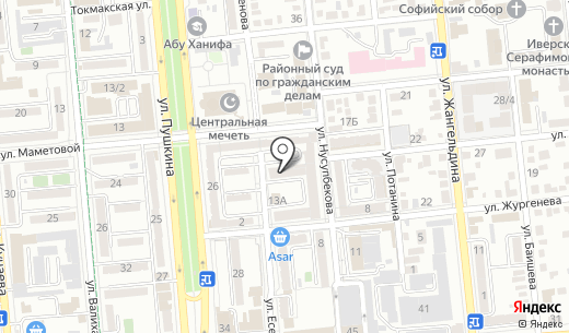 Puro Klima. Схема проезда в Алматы