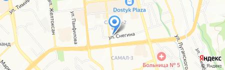 Счастливый дом на карте Алматы