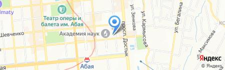 Теплица на карте Алматы