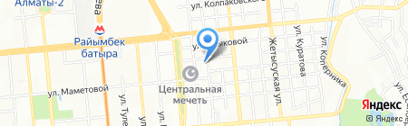 Медеуский районный суд г. Алматы на карте Алматы