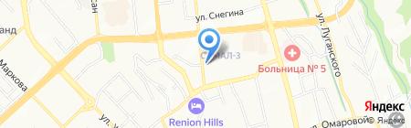 TURKUAZ IDA STROI на карте Алматы