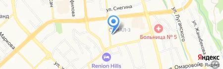 Turkuaz Invest на карте Алматы