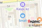 Схема проезда до компании Enjoy Shop в Алматы