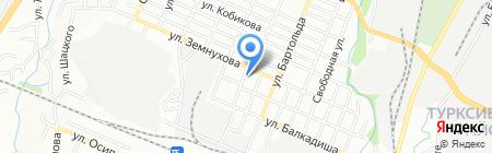 Экпедитор на карте Алматы