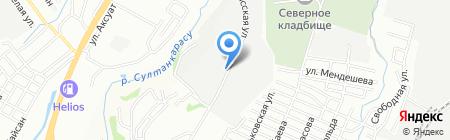 StoneHead на карте Алматы