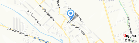 Раилям на карте Алматы