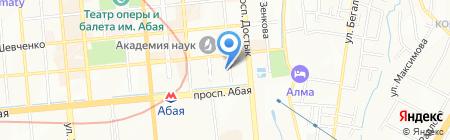 ELTC на карте Алматы