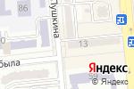 Схема проезда до компании Lalinda в Алматы