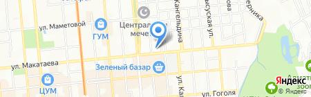 Мега-Персонал на карте Алматы