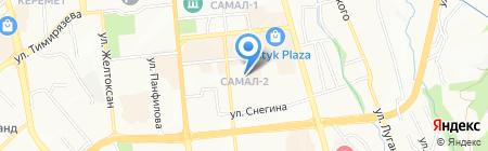 MAJOR на карте Алматы