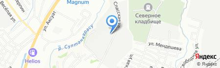 Салон авторазбора на карте Алматы