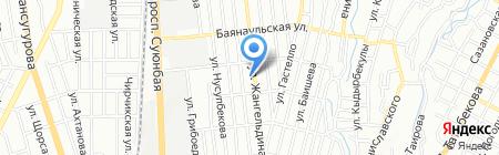 Be clever на карте Алматы