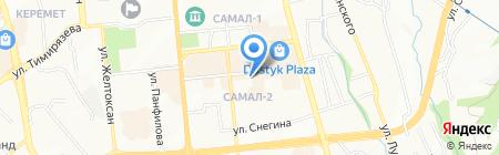 Женимпаз-Мед на карте Алматы