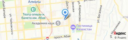 REAL VIVA STYLE на карте Алматы