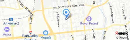 Общеобразовательная школа №143 им. Суюнбая на карте Алматы