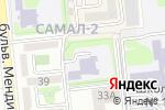 Схема проезда до компании Ясли-сад №116 в Алматы