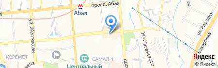 Atelier de courcelles на карте Алматы