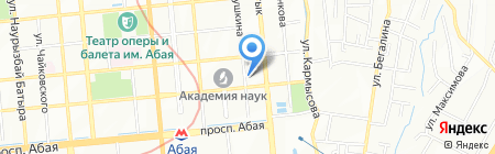 Медицинский центр доктора Ходоровского на карте Алматы