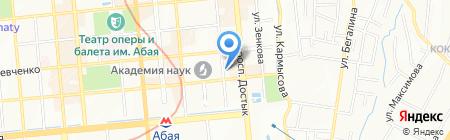 Лингвистический центр на карте Алматы