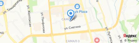 Ясли-сад №116 на карте Алматы