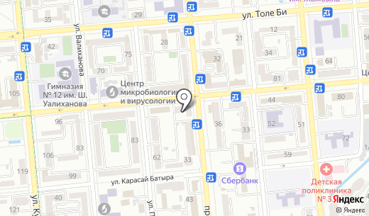 Faberlic агентский пункт. Схема проезда в Алматы