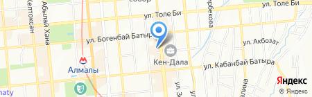 Europe Asia Inc на карте Алматы