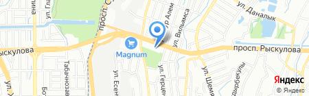 Sandalyeci на карте Алматы