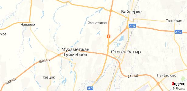 Жанадауир на карте