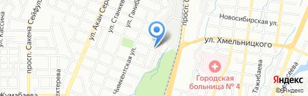 Авто-Продукт на карте Алматы