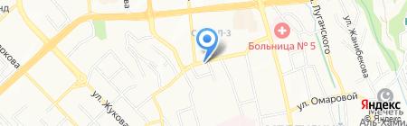 АКВАМАРКЕТ на карте Алматы