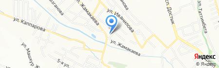 Центр Национальных Блюд на карте Алматы