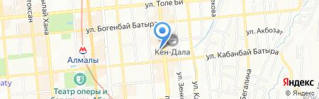 КазРосОйл на карте Алматы