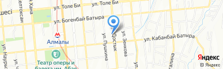 Flash Store на карте Алматы