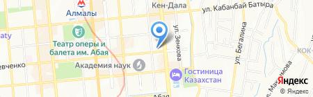НЦКИТ на карте Алматы